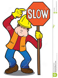 clipart highway worker clipart collection flagger group of