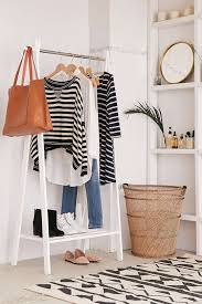 Armoires For Hanging Clothes The Best Freestanding Wardrobe U0026 Clothes Racks Apartment Therapy