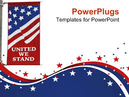 United States Map Powerpoint Template by Top 47 American Flag Powerpoint Templates Backgrounds Slides And