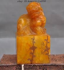 pixiu statue china tianhuang shoushan carved pixiu statue