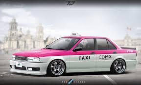 nissan tsuru taxi virtual tuning studio by ark llanes nissan sunny sentra tsuru iii
