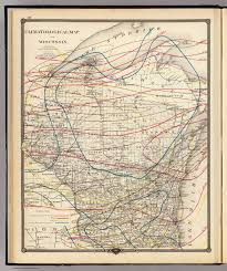 Wisconsin Maps by Climatological Map Of Wisconsin David Rumsey Historical Map
