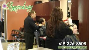 shearology hair salon in san diego youtube