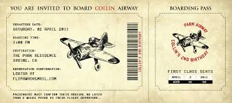retro template concept of airline boarding pass ticket with brown