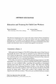 cover letter childcare child care worker cover letter essay on community service