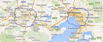 Map Size Comparison Australia U0027s Public Transport Is Better Than Australians Think