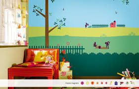 kids room decor and kids room wall painting ideas from asian paints