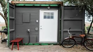 Small Home Designs by Shipping Container Tiny Home Modern Fully Furnished Turnkey