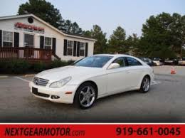mercedes of fayetteville used mercedes cls class for sale in fayetteville nc 22