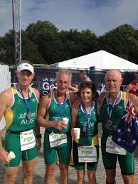 triathlon pioneer doris trueman back on the podium in london