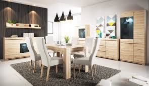 Beech Dining Room Furniture by Ava Dining Room Furniture Set Color Beech Ibsen Modular