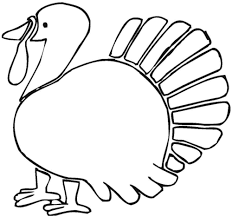 turkey feathers coloring page free