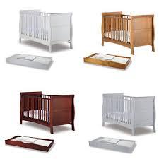 Boori Sleigh Cot Bed Boori Sleigh Cot Bed With Boori 2 Drawer Changer Set 159 00