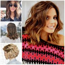 medium length hairstyles with color medium length haircut for brunettes hair color hairstyles and
