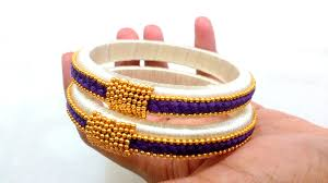 bracelet made with thread images How to make silk thread bangles design 2 jpg