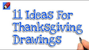 11 thanksgiving drawing ideas