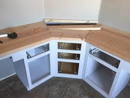 Diy Wood Desk Plans A Wood Plank Desktop For About 40 Inside Build Wooden Desk Plans