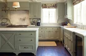 green kitchen cabinets pictures white sink with brushed nickel faucet antique green kitchen