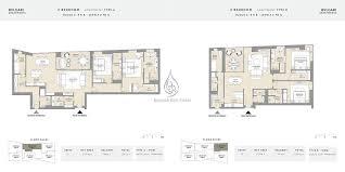 bvlgari apartments 3 bedroom mansion floor plan