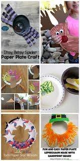 22 best paper plate crafts images on pinterest paper plate