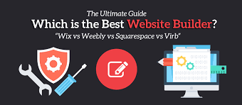 which is the best website builder wix vs weebly vs squarespace vs