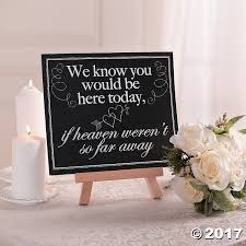 wedding memorial sign memorial wedding sign