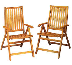 Outdoor Furniture Folding Chairs by Fine Wood Folding Chairs Chair In Mahogany W Padded Seat Set Of 4