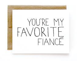 fiance card etsy