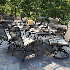 Cast Iron Patio Dining Sets - alexandria casual image