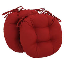 coral coast classic 16 in round bistro outdoor seat cushions