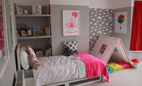 Pink And Grey Girls Bedroom 30 Girls Bedroom Makeover Ideas Becoming Martha