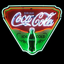 Coca Cola Six Flags Coupon Neon Signs For Sale Retro Neon Signs And Vintage Style Neon Sign