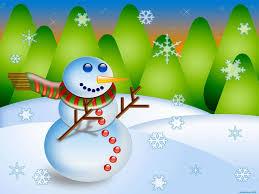 snowman cartoon happy christmas wallpaper hd 9857 wallpaper