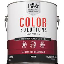 do it best color solutions 100 acrylic latex self priming flat