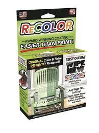 rust oleum wipe new recolor kit at menards