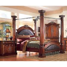 bed frames with posts four poster king bed queen 4 poster home