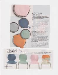 bhg march 2016 ikea svenbertil chairs painted chairs