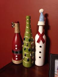 wine bottle christmas ideas 100 ideas to try about christmas crafts snowman and