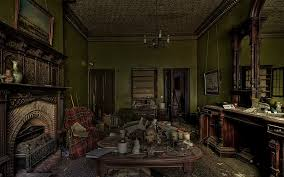design a haunted house online game home photo style