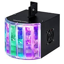 wowtou dj lights dmx sound activated 18w rgb