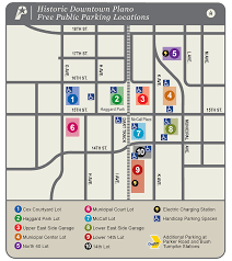 Plano Tx Map Parking U2014 Plano Artfest 2017