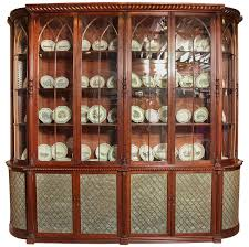 Narrow Mahogany Bookcase by Regency Fiddle Back Mahogany Bookcase Of Exceptional Quality At