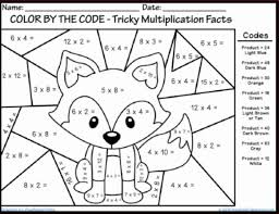 Best Multiplication Coloring Pages At Coloring Book Online Free Multiplication Coloring Page