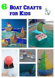 make a paper boat with your children will it sink or float