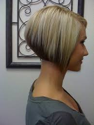 photos of the back of short angled bob haircuts current hairstyle trends for women over 50 short angled bobs