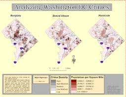 Crime Mapping Com Jv U0027s Gis Journey Week 5 Homeland Security Dc Crime Mapping