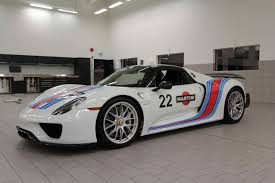 martini racing ferrari 918 spyder weissach pkg in martini livery for sale