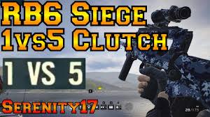 1v5 ace clutch vs macie jay rainbow six siege youtube