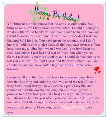 Samples Of Birthday Greetings A Sweet Happy Birthday Letter To My Boyfriend