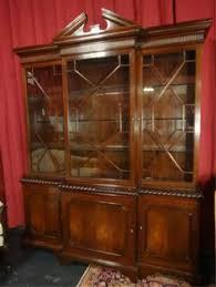 mahogany china cabinet furniture baker furniture historic charleston mahogany china cabinet